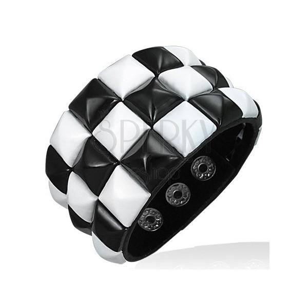 """Купить Кожаный браслет  """"Respect Steel """" 2300504 в интернет-магазинах."""